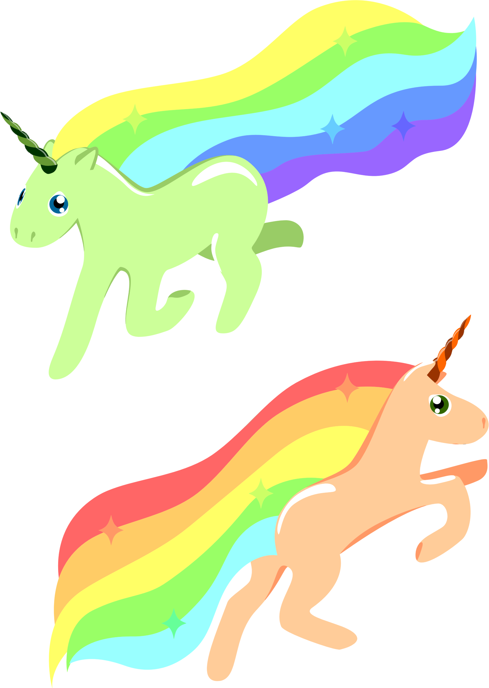 Horn clipart rainbow unicorn, Horn rainbow unicorn ...