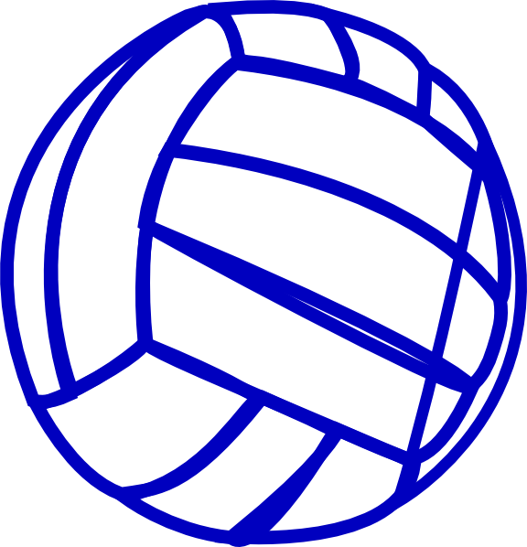 clipart volleyball word