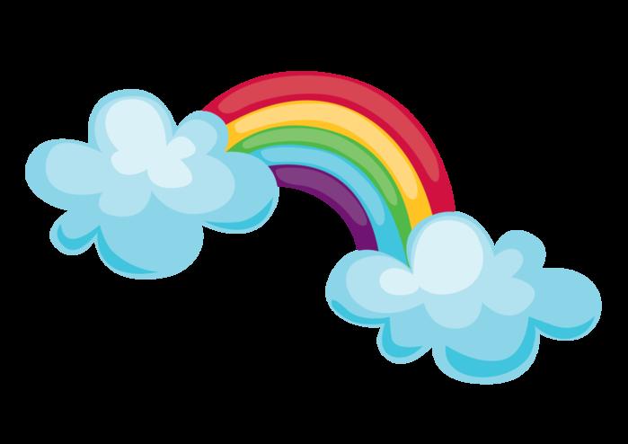 Tiempo arcoiris sky pinterest. Clipart rainbow weather