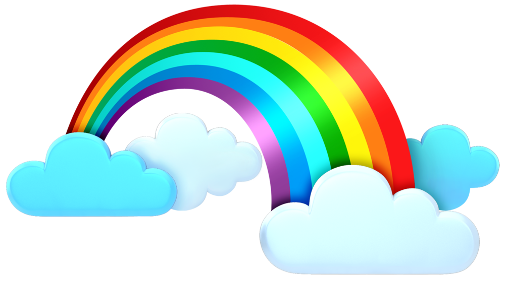Cute illustration google search. Clipart rainbow weather