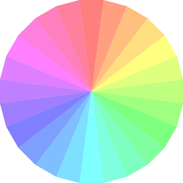 Color clip art at. Wheel clipart transparent background
