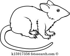 Clipart rat. Outline drawing at getdrawings