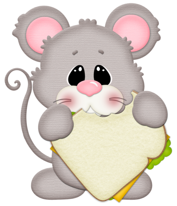 Souris tubes png pinterest. Rat clipart animal eating
