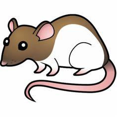 Cute free download best. Clipart rat artistic