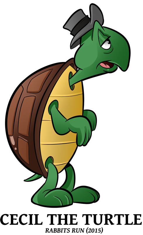 Clipart turtle run.  looney of spring