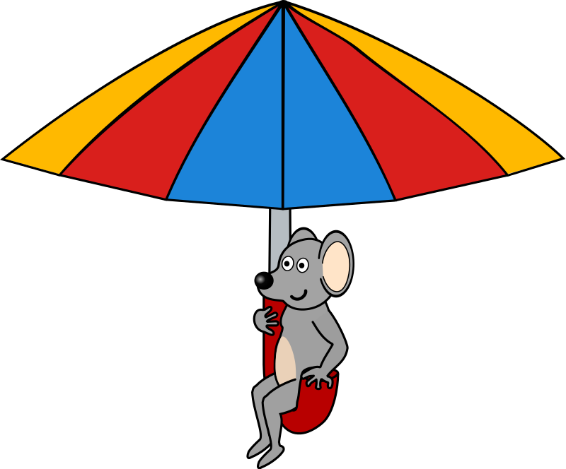 Public domain pencil and. Clipart rat easy