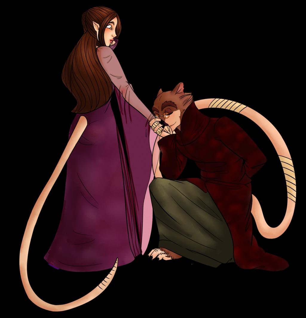 Clipart rat female rat. Royal alchemist x princess