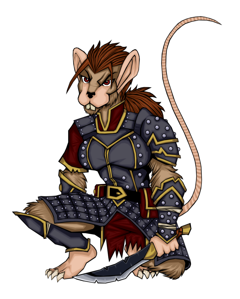 Were colored by redmonkey. Clipart rat female rat