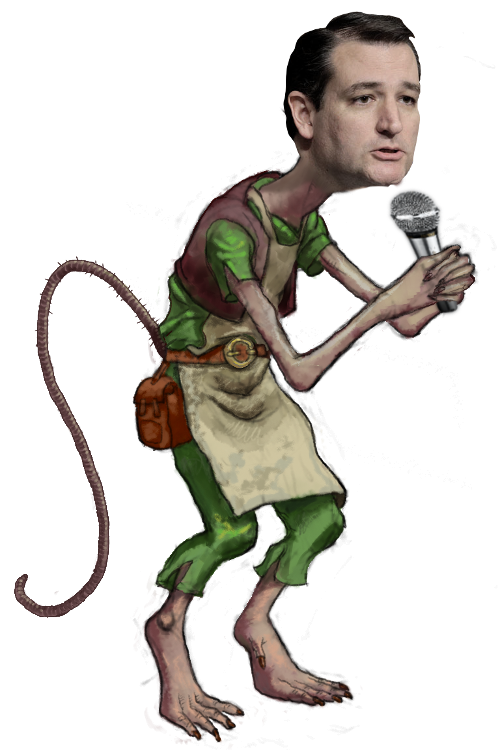 Clipart rat filthy. Lying ted cruz on