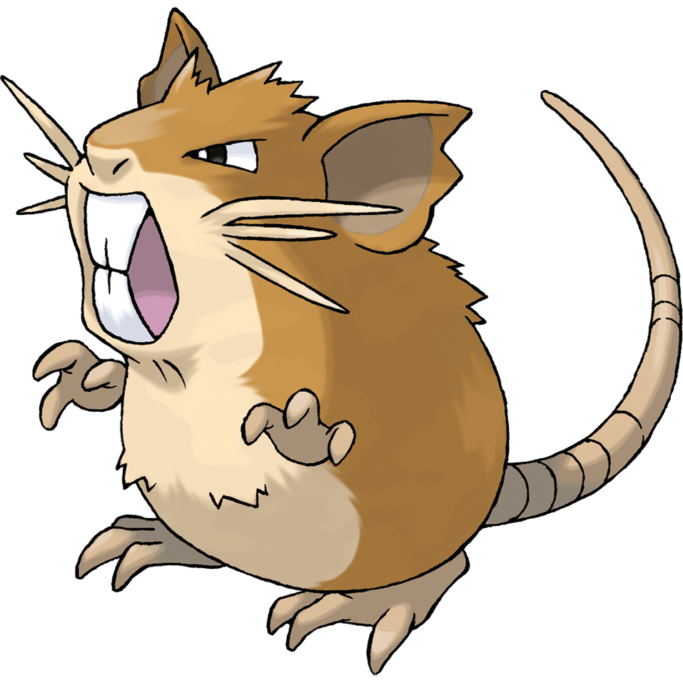 raticate rate that. Clipart rat filthy