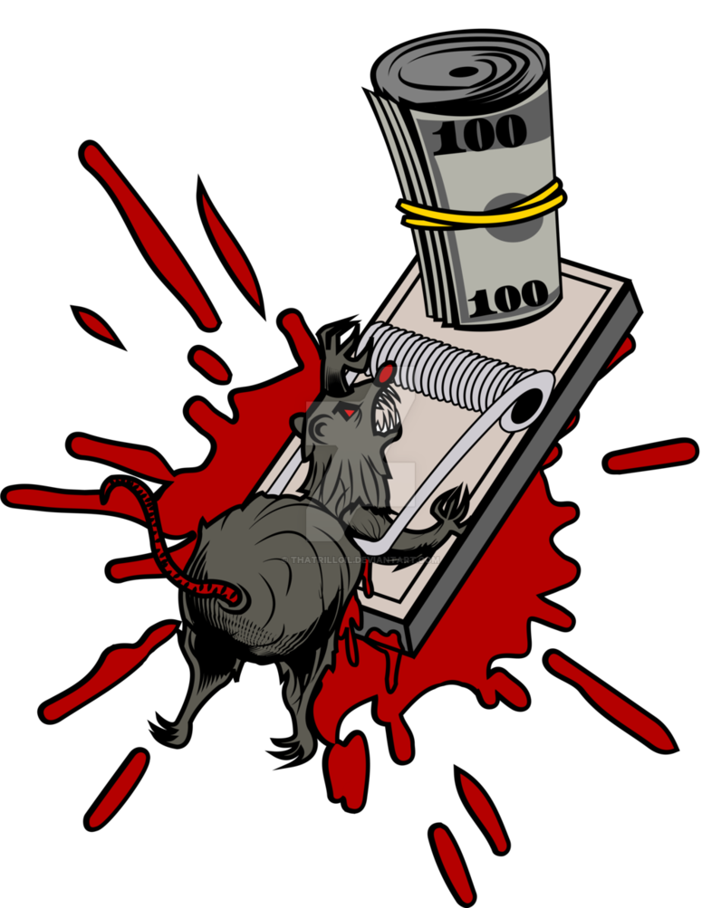 Trap by thatrillgil on. Clipart rat filthy
