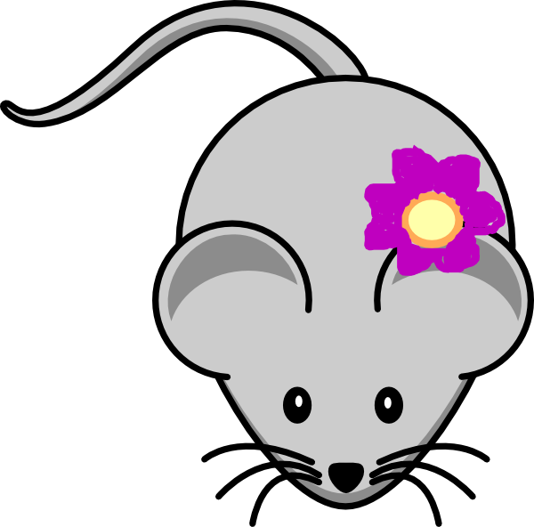 With clip art at. Clipart rat flower