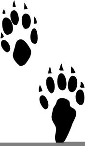Footprint clipart rat. Free images at clker