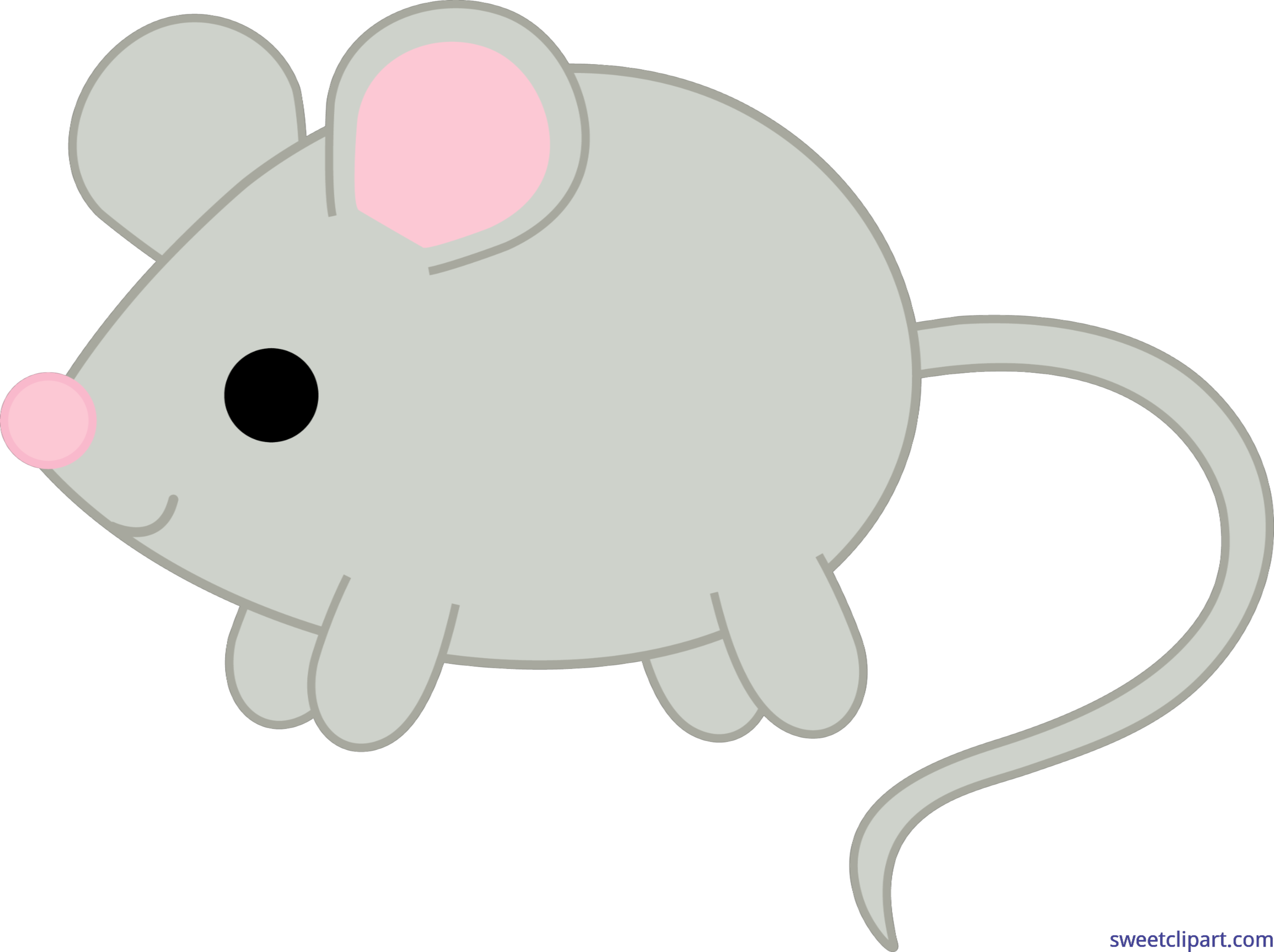 Clip art sweet. Clipart mouse gray mouse