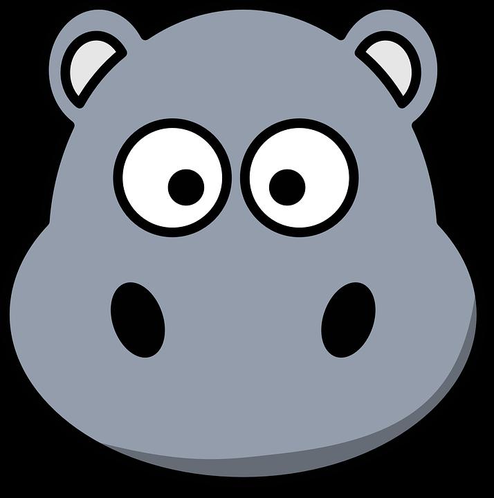 Zoo animal free collection. Clipart rat head cartoon