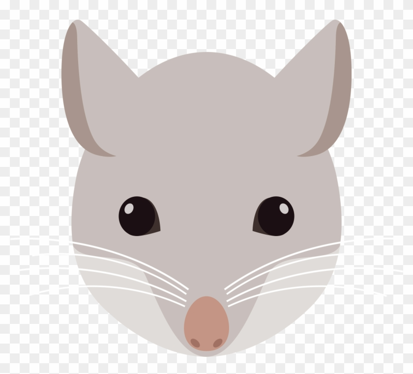 Clipart rat head cartoon. Rodent mouse of clip