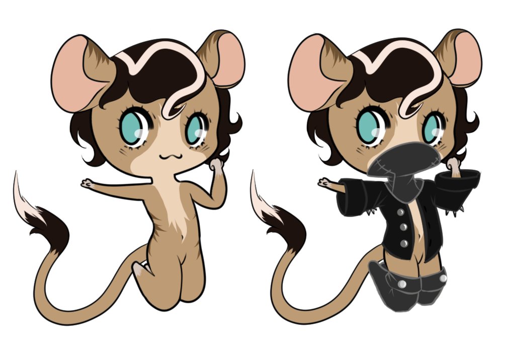Tia old and ponies. Clipart rat smelly