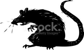 Rat clipart spooky. Scary stock vectors me