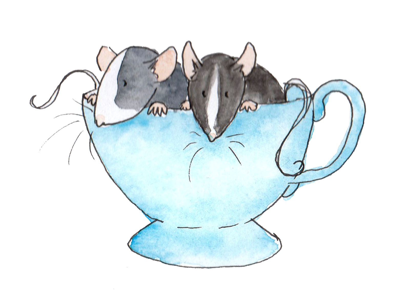 Clipart rat stressed. Silly badger works ratty