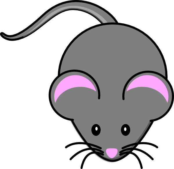 Gray clip art at. Mouse clipart science