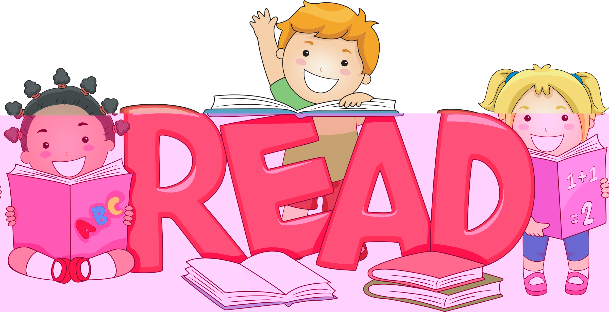 Clipart reading. For elementary