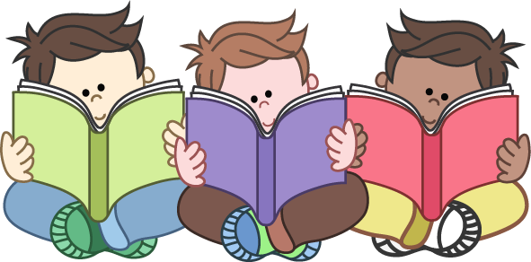 Clip art for teachers. Clipart reading