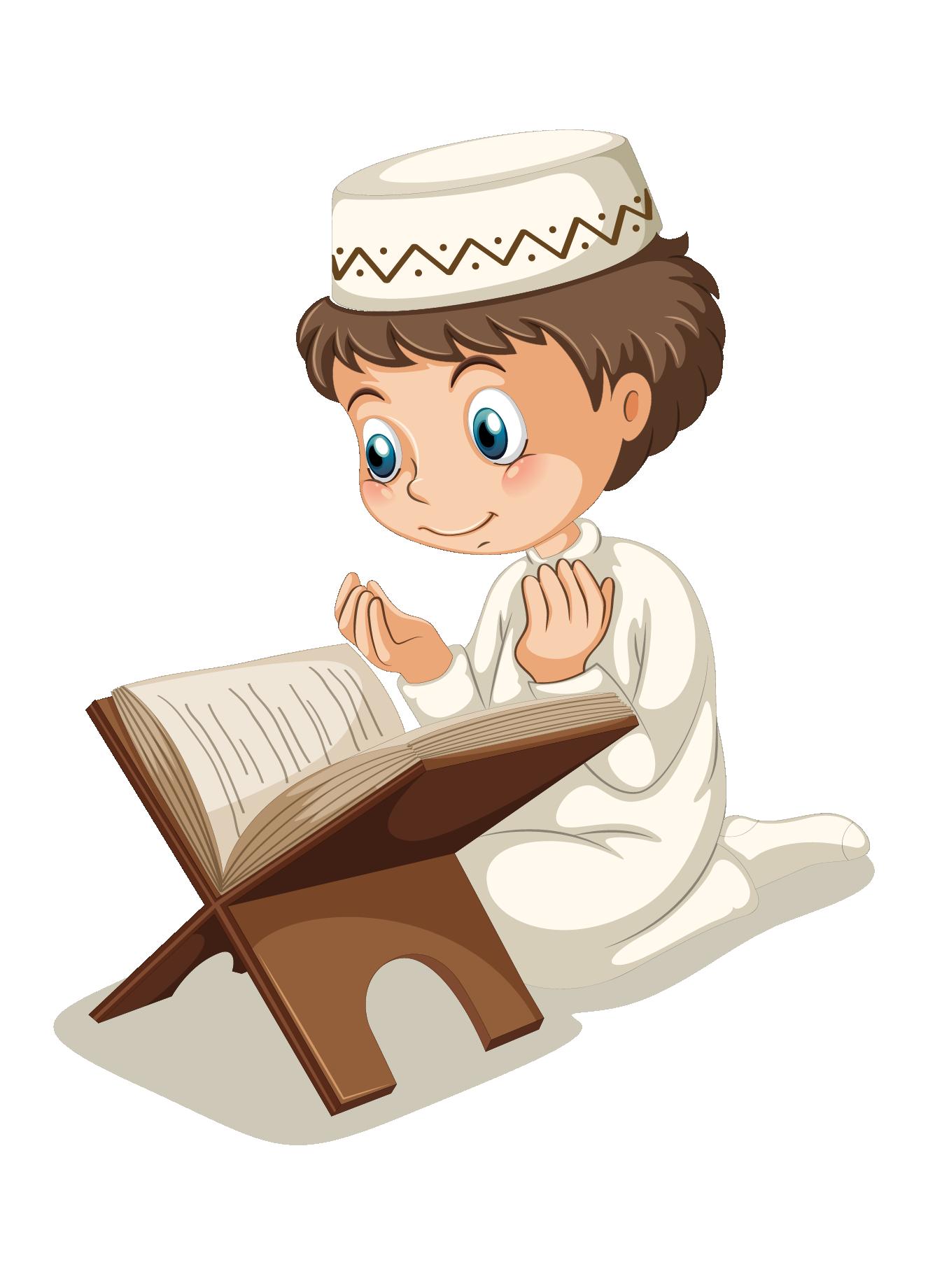 Muslim islam boy clip. Clipart reading african american