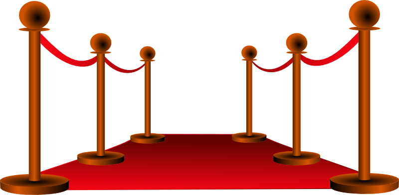 Image of movie clip. Staircase clipart red carpet