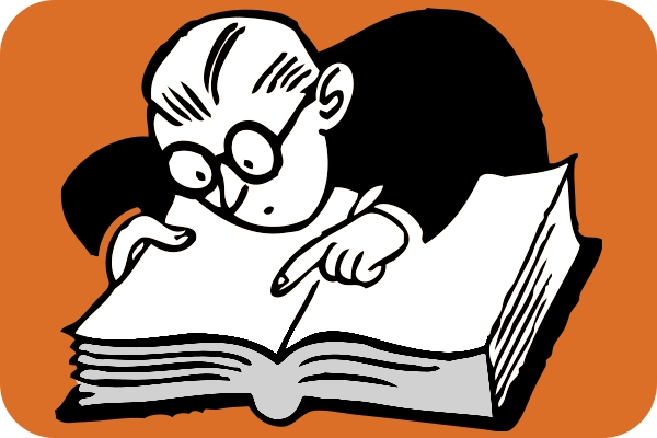 Com chooses its word. Dictionary clipart content