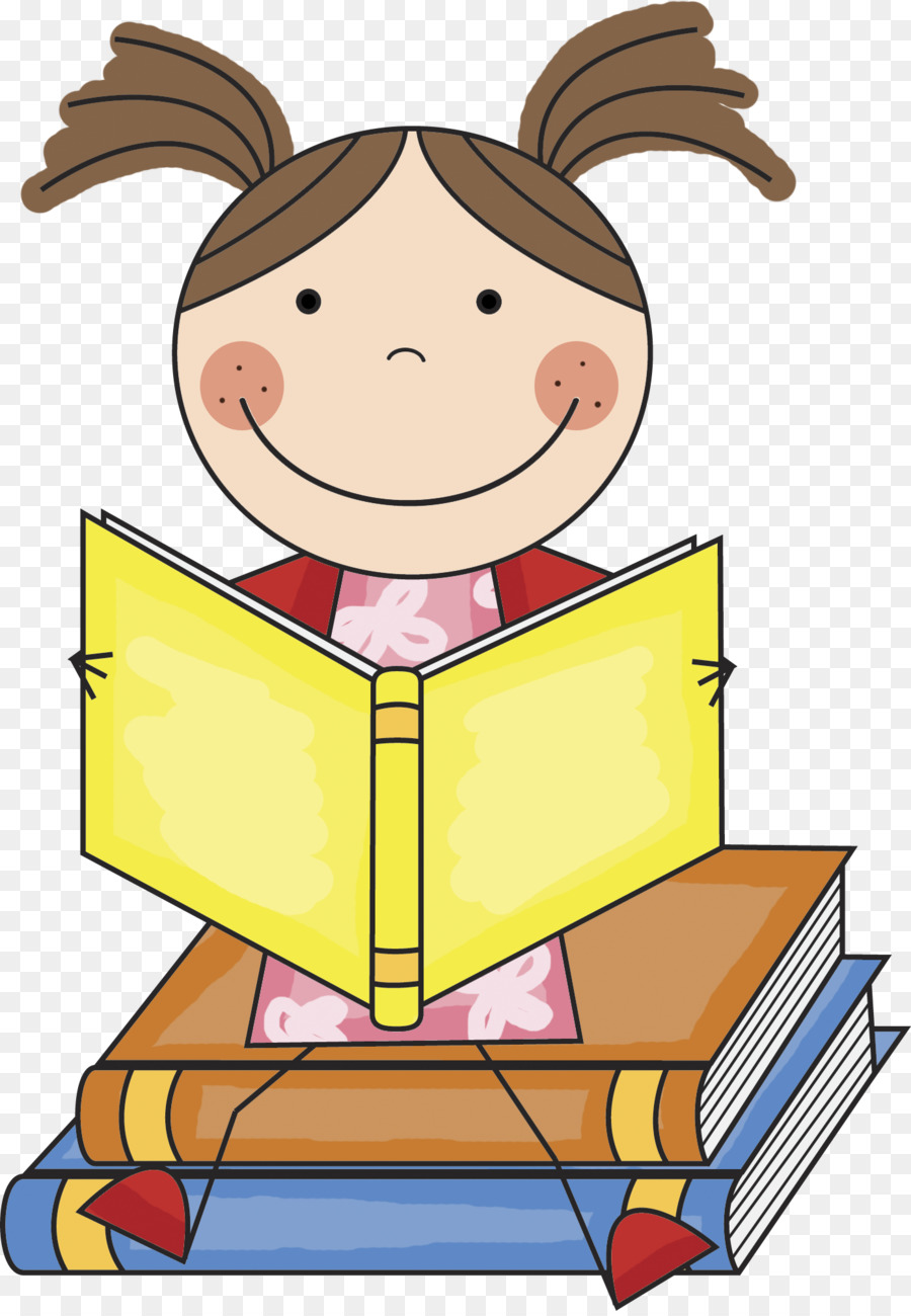 Child book . Clipart reading education