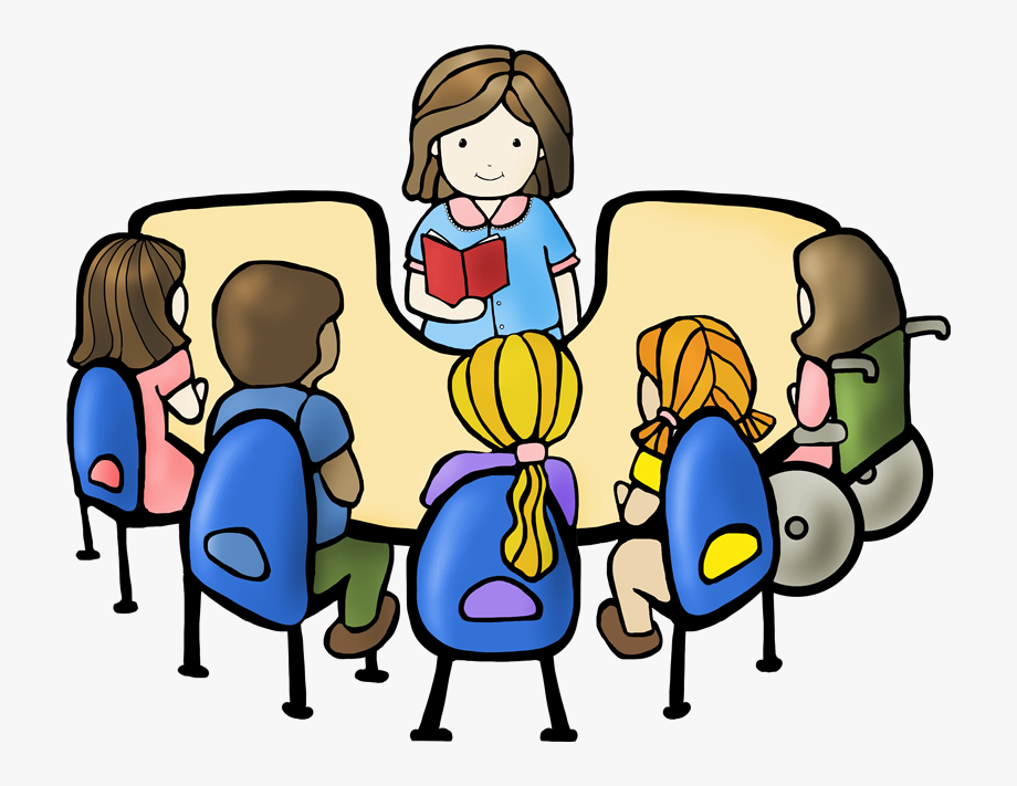 Clipart reading guided reading. Group cliparts transparent