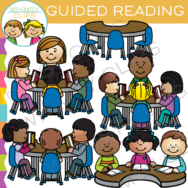 Group clip art . Clipart reading guided reading
