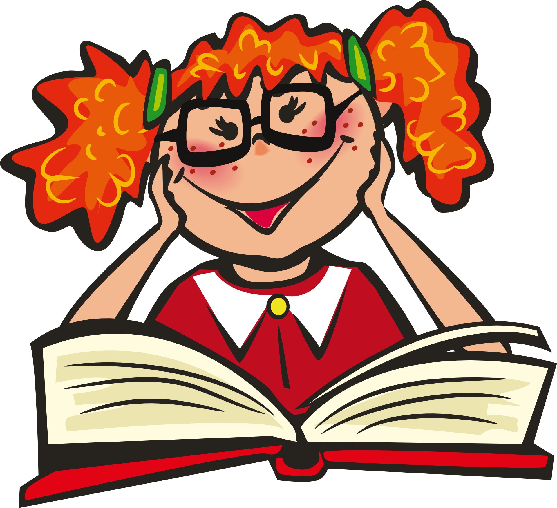 Clipart reading happy reading, Clipart reading happy reading ...
