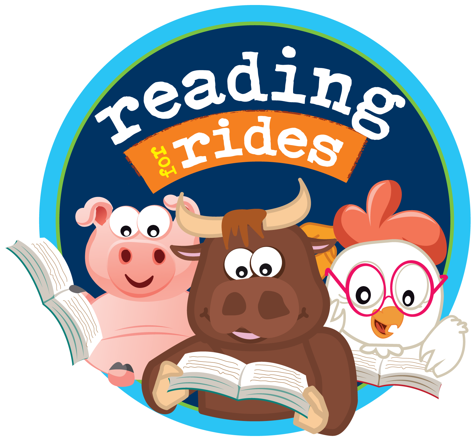 Reading for rides at. Volunteering clipart carnival