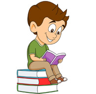 Clipart reading interesting book. A many cliparts clip