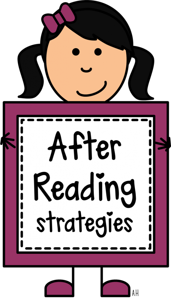 Writer clipart writing strategy. Comprehension strategies after reading