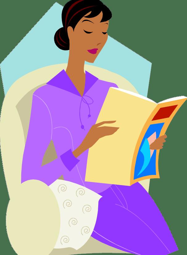 N j lindquist. Clipart reading magazine