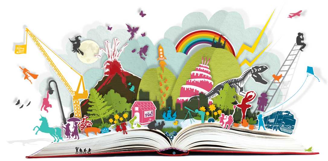 Clipart reading read book. World day one creative