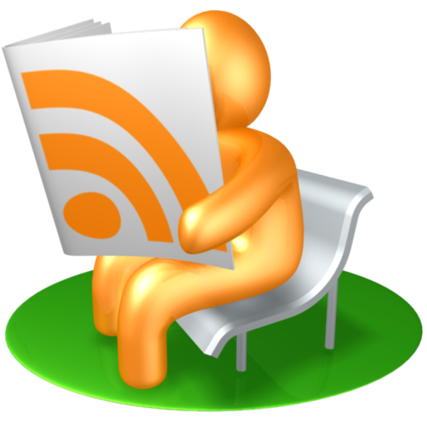 Orange rss reader free. Journal clipart newspaper