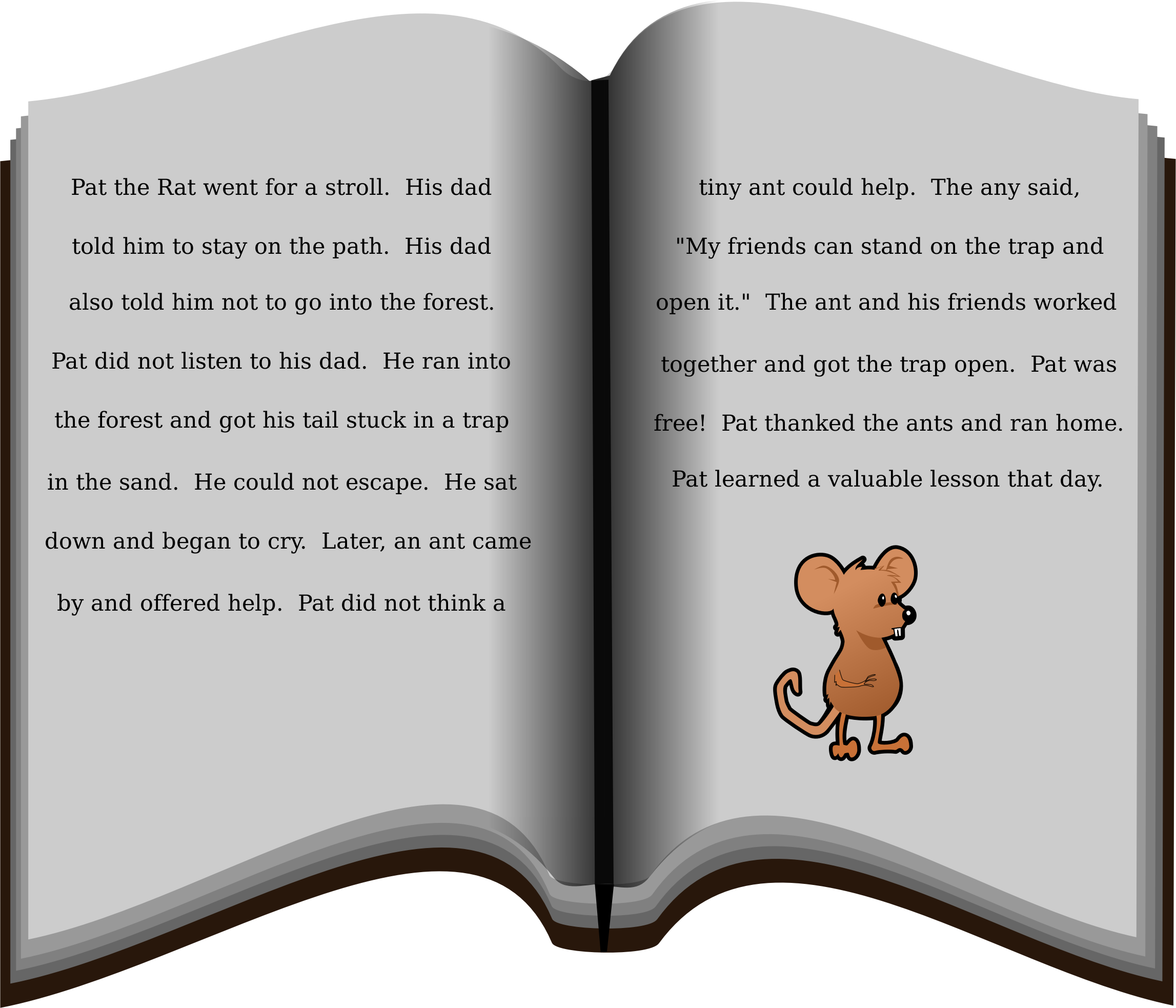 Clipart reading reading story book. Big image png