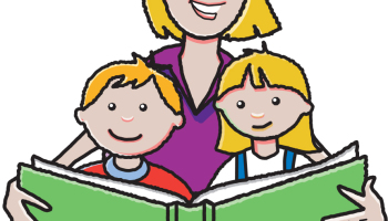 Station . Clipart reading shared reading