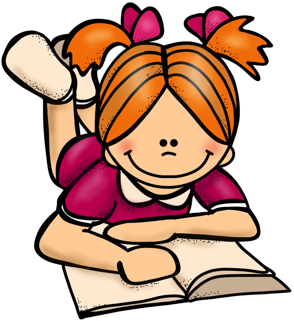 Clipart reading student. Recommend a great book