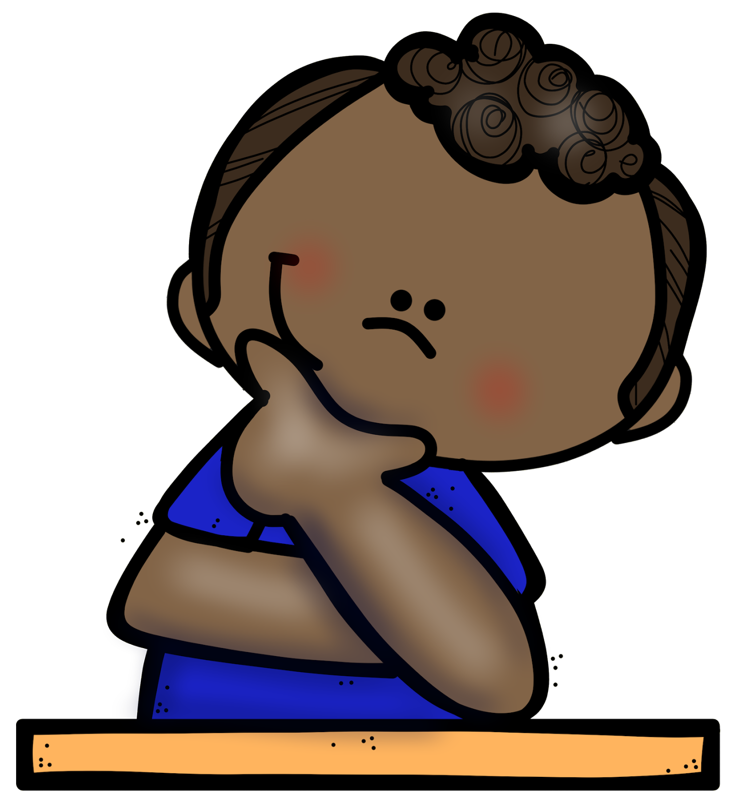 Clipart reading student thinking, Clipart reading student ...