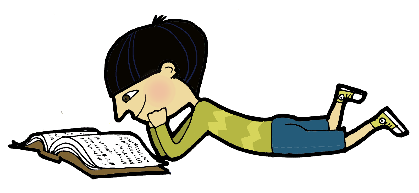 Clipart reading student thinking. Don t skip the