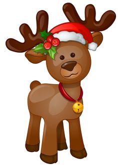 Cute clip art free. Clipart reindeer