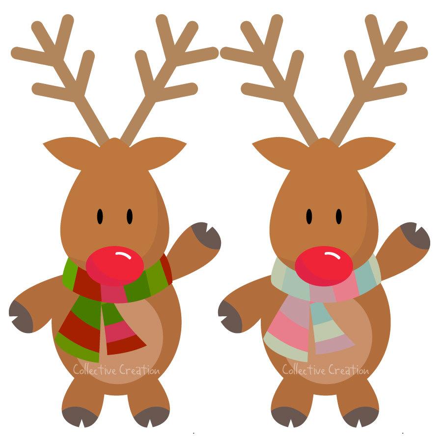 Rudolph . Clipart reindeer