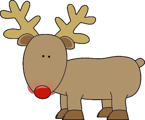 Clip art image cute. Clipart reindeer
