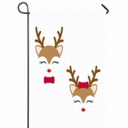 Amazon com ahawoso outdoor. Clipart reindeer baby boy christmas