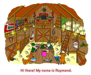 Clipart reindeer barn. Technology rocks seriously the