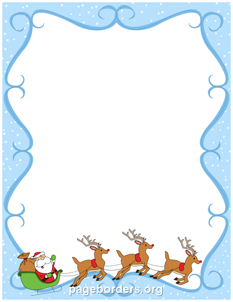 Clipart reindeer border. Pin by muse printables